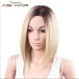 Other - BN ombré or Black bob wig 14 inches NOT FRONT LACE